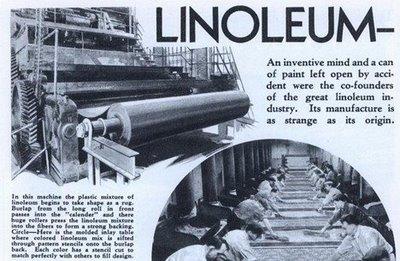 Что такое линолеум